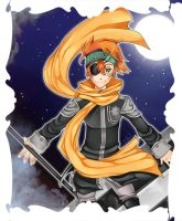 Lavi the Bookman by saorilight