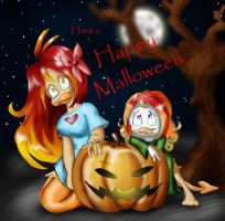 Happy Malloween by The-real-Vega777