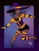 Halloween 2010 - Donni Witch by roemesquita