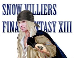 FFXIII: Casey as Snow Villiers by RoxyRoo