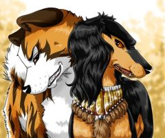 Tora and Sharif by AnnaGiladi