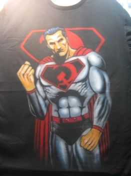 Russian Superman by antgarcia