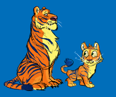 Tigers by madDolphin