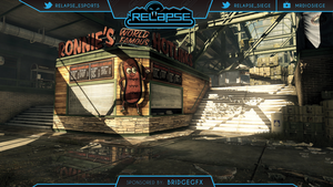 Custom Twitch Overlay for @Relapse_eSports by BRIDGEGRAPHICS