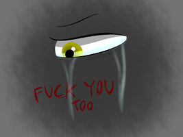 Eye practice + vent by WolfTwine