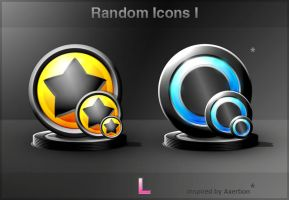 Random Icons I by Listoric