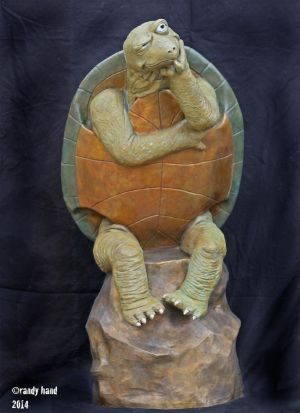 Skeptical Turtle by RandyHand