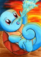 Squirtle by o-Anubis-o