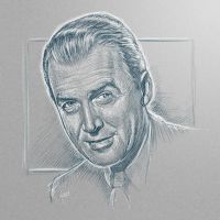 [sketch] Jimmy Stewart by BikerScout