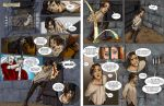 Book of Three comic page 1-2 by saeriellyn