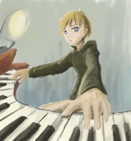 WIP perspective piano by riftgarret
