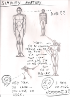 Study about How to simplify Anatomy by Dex91