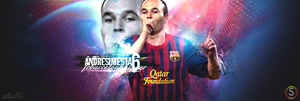 Andres Iniesta - FC Barcelona by DaVGraphic