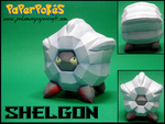 Shelgon Papercraft by Skeleman