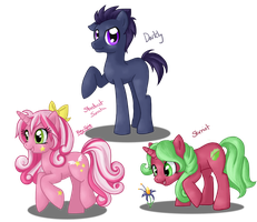 OC Ponies by Pony-Spiz