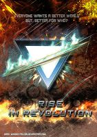 .:A House Divided:. Rise In Revolution Cover by Dark-Winged-Falcon