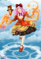 Ludin with Fire of Effret by RownGil