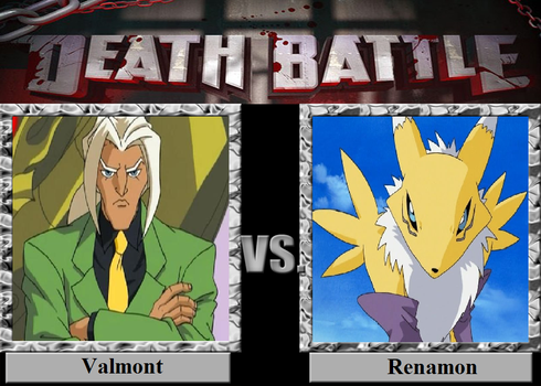 Valmont vs. Renamon by JasonPictures