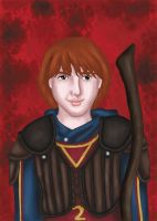 Ron Weasley by comicalclare