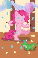 Pinkie Pie Dance Partay by Chaos-Flare44