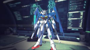Gundam Breaker 2 GP-01FB (Bit System) by NGTirose