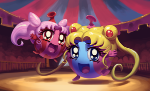 Circus Balloons by 0pik-0ort