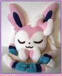 Sylveon Pillow by sorjei