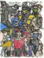 Mortal Kombat II by DHK88
