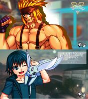 YouTube Thumbnails - Alex and Young Noctis by jadenkaiba