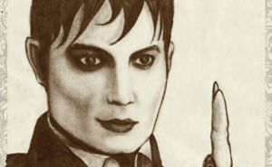 Barnabas Collins, still watching you... Close-Up by michelleable