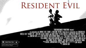 Resident Evil movie poster 5 by ma6