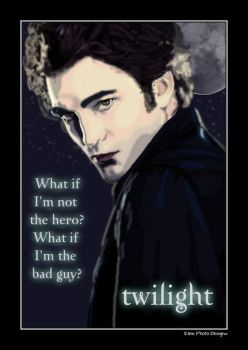 Edward Cullen Twilight by Eline-photo-design
