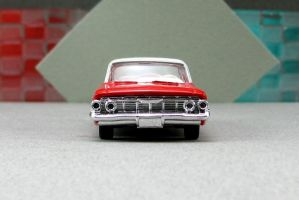 1961 Chevrolet Impala - red zf cotd - Revell by Deanomite17703cotd