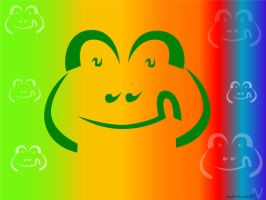smile of a frog by adriijan51