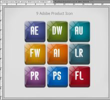 Adobe Product Icons by MurTXazI