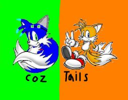 Coz And Tails Icon by CozandTails