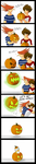 Pumpkin Carving Contest by Schreibaby-Zephyr