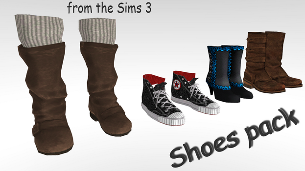 Shoes pack by AlexGorgan