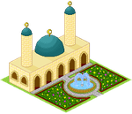 Pixel Mosque by spring-sky
