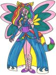 The Rainbow-y Goddess of....Rainbowness by CooperGal24