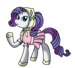 Rarity's Outdoor Outfit by WolfyOmega