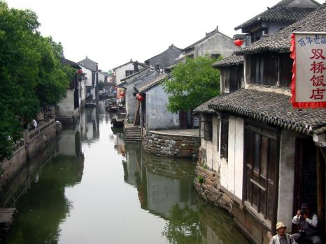Chinese Canals by spiral-six