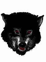 Angry wolf. by simonh4