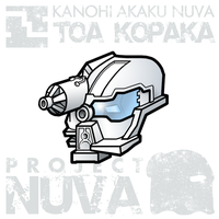Project Nuva - Kanohi Akaku by ToaTiome