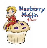 DC: Blueberry Muffin by NamiAngel