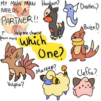 Help me chose my PMD team? by TamilaB