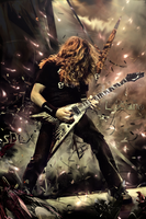 Dave Mustaine by SD-Arts