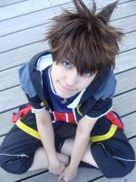 Sora kingdom hearts 2 by Sally-hiou