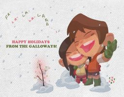 Happy Holidays card by cheeks-74