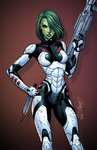Gamora by J-Skipper